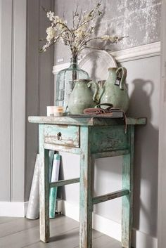 Shabby Chic Decor easy and creative tricks - Wonderful help to organize a comfy and creative simple shabby chic decor . The fantastic tips pinned on this not so shabby day 20181205 , pin note ref 5433475168 Decor, Furniture, Shabby Chic Decor, Farmhouse Decor, Painted Furniture, Cottage Decor, Chic Decor, Shabby Chic Furniture, Chic Home Decor