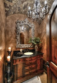 ***Rustic Elegance Bathroom***