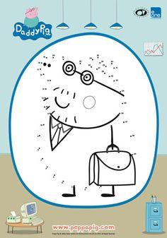 Peppa Pig Dot-to-Dot | Printable | Bub Hub