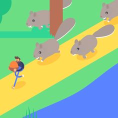 This Animator Made 30 Excellent GIFs Celebrating His 30 Days in New York City | Adweek