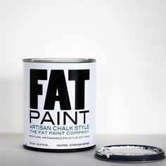 Our FAT-tastic tip for today? Stay out of the can! Weird for us to say, right? So what do we mean by it? When working on a project it's best to pour the paint you'll need into a separate container. This will help keep the can clean, making an air-tight seal possible when storing your left over #FATPaint. Helping extend the shelf-life of your paint, one clean can at a time!