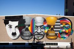 LE STREET-ART COLORÉ DE OKUDA ! | HouHouHaHa
