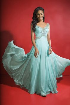 Elegant prom dress style #CB24
