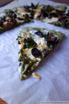 Kale Pizza Dough! Pu