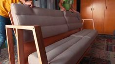 3MOODS - Couch that can be transformed into a table, bed, chaise longue,...