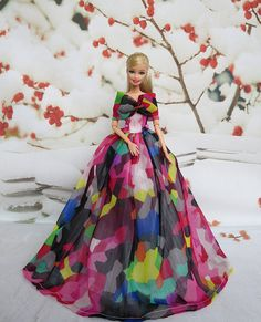 Barbie+Dress+Barbie+Costume+Barbie+Clothes+Barbie+by+Blueberry3,+$16.90