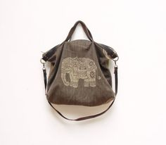Hey, I found this really awesome Etsy listing at https://www.etsy.com/listing/170756137/ikat-leather-bag-boho-elephant-safari
