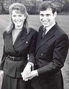 prince andrew and sarah ferguson today | Prince Andrew & Sarah Ferguson, 1986
