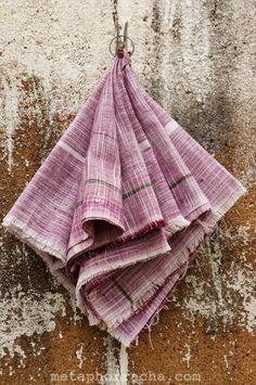 #home-spun and #handwoven #khadi handkerchiefs.