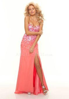 c47297a484d61 Sheath  Column Sleeveless Chiffon Natural Waist Sweetheart Prom Dress Mori  Lee Prom Dresses