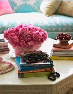 decorative flowers & colors