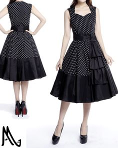 1950s Inspired dress by Amber Middaugh Standard Size$49.95 Plus Size $59.95