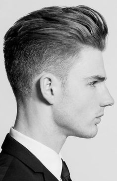 Pompadour With Mid Fade hairstyles for men