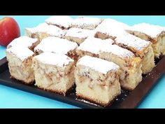 Prajitura cu mere fara aluat sau foi - YouTube No Cook Desserts, Cheesecake, Deserts, Make It Yourself, Facebook, Cooking, Ethnic Recipes, Food, Youtube