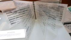 Más que libros, objetos de arte: Libro transparente