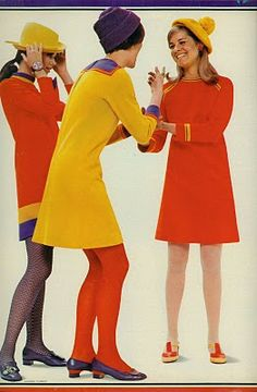 ♥ _ ♥ {fashion feature from august 1967 seventeen magazine}