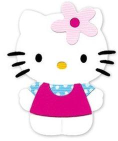 hello+kitty+sizzlits | Sizzix Sizzlits Hello Kitty with Flower 2 Medium Die | eBay