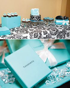 Tiffany Themed 30th Birthday Brunch {Breakfast at Tiffanys}