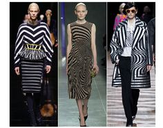20 trends for Fall/Winter 2014-2015 Optical monochrome Balmain Bottega Veneta Dries van Noten | cynthia reccord