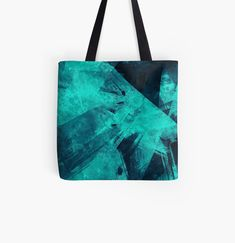 'Blue Please' Tote Bag by Beer-Bones Cotton Tote Bags, Reusable Tote Bags, Blue Bags, Poplin Fabric, Shopping Bag, Bones, My Arts, Printed, Awesome