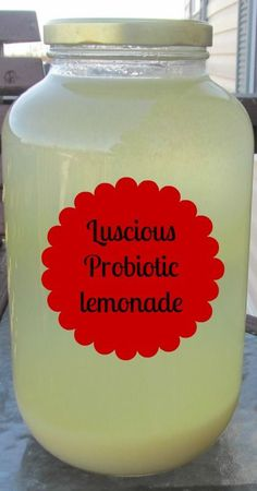 I would sub in 3/4 c raw honey for the 1 1/2c sugar in this recipe.  That would help it along and make it much better for the bod.  Luscious Probiotic Lemonade | Naturally Persnickety Mom