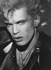 """Billy Idol- Fave Songs: """"Dancing With Myself"""", """"Rebel Yell"""", """"Eyes Without A Face"""", """"Flesh For Fantasy""""(sexy), """"Catch My Fall""""."""