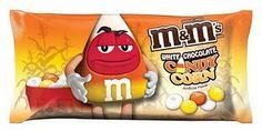 White chocolate candy corn M & M's!!