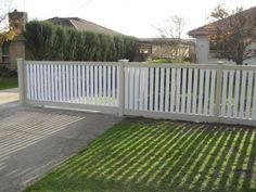 Picket fencing or Residential fencing is a maintenance-free fencing alternative to timber that is easy to install and is made in Australia from environmentally friendly components.