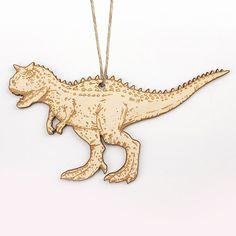 Carnotaurus Christmas Ornament