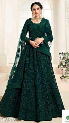 Party Wear Indian Dresses, Designer Party Wear Dresses, Party Wear Lehenga, Indian Gowns Dresses, Indian Bridal Outfits, Pakistani Bridal Dresses, Dress Indian Style, Indian Fashion Dresses, Bridal Anarkali Suits