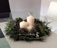 Centro de mesa Navidad / Christmas  Table decoration /Adorno navideño / DIY / Wreath