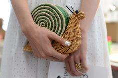 Love the little snail Kate Spade purse!