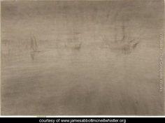 Nocturne Shipping - James Abbott McNeill Whistler - www.jamesabbottmcneillwhistler.org