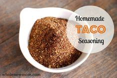 Homemade Taco Seasoning Recipe - Whole New Mom