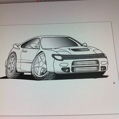 I redrew the front bumper for the rc design. - @noritoy- #webstagram