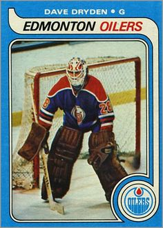 Highlights, stats and hockey card info for Dave Dryden. Dave played in the National Hockey League (NHL) with the Rangers, Blackhawks, Sabres and Oilers. Hockey Goalie, Hockey Games, Goalie Mask, Edmonton Oilers, National Hockey League, Trading Cards, Nhl, Baseball Cards, Sports