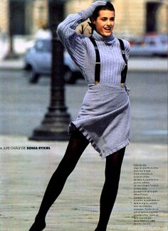Yasmin Le bon: ELLE France,  1987 editorials
