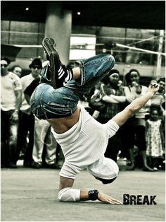 Aprender a bailar Break Dance. En proceso