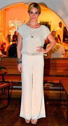 Para o lançamento da HOMJ, no Rio de Janeiro, Giovanna Ewbank optou por look todo da marca. http://abr.io/J2eZ