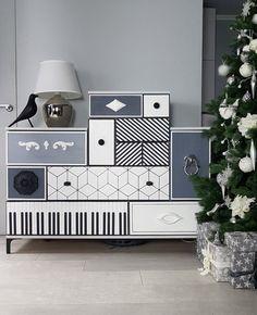 befor-after, IKEA dresser