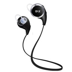Eterox QCY QY8 Mini Bluetooth 4.1 Headphones with Microphone for iPhone, iPad, Samsung and Android Smartphone – Black