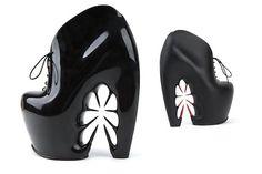 Iris van Herpen X United Nude Thorn shoes.