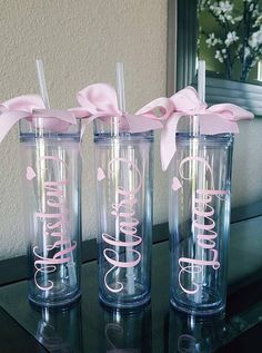 Trendy Ideas For Bridal Gifts Cricut Bridesmaid Cups, Wedding Gifts For Bridesmaids, Gifts For Wedding Party, Bridal Gifts, Party Gifts, Wedding Favors, Fun Gifts, Bridal Parties, Bridesmaid Proposal
