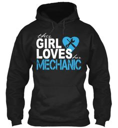 This girl loves her mechanic.! I need this