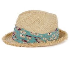 fedora. perfect for summer or fall.