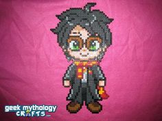 Harry Potter hama perler beads - Click to Enlarge Image