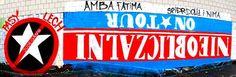 Nieobliczalni On Tour - graffiti Cracovii
