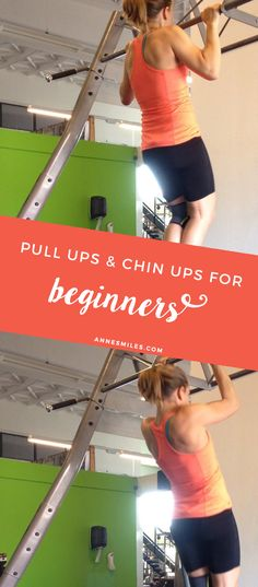 Pull ups and chin ups for beginners - Get ready to do your first pull up! Click through to read more, or repin to save for later!