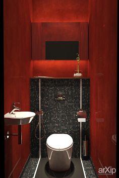 Санузел: интерьер, квартира, дом, санузел, ванная, туалет, минимализм, 0 - 10 м2 #interiordesign #apartment #house #wc #bathroom #toilet #minimalism #010m2 arXip.com