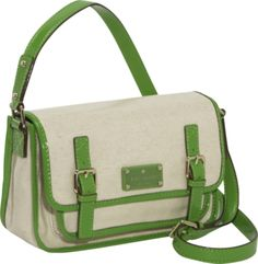 perfect for summer. in new england. kate spade horseshoe cove. http://www.ebags.com/product/kate-spade/horseshoe-cove-woven-cotton-buckle-flap-crossbody/232089?productid=1018472 #ebags #handbag #designer